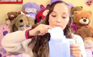 Agua azucarada y saludable