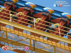 De paso en Six Flag Fiesta Texas