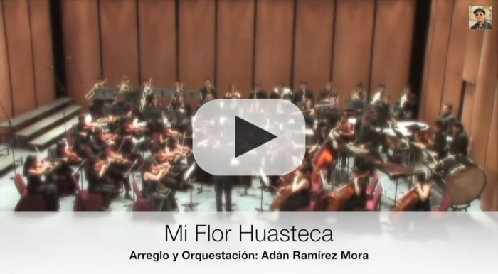 "Huapango Sinfónico ""Mi flor Huasteca"" para orquesta sinfónica"