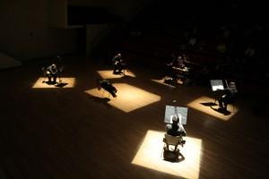 """Danza contemporánea con Medios electrónicos """"Móvil ID"""""""