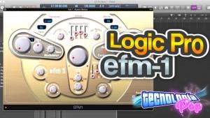 Como funciona el Sintetizador EFM-1 de Logic Pro