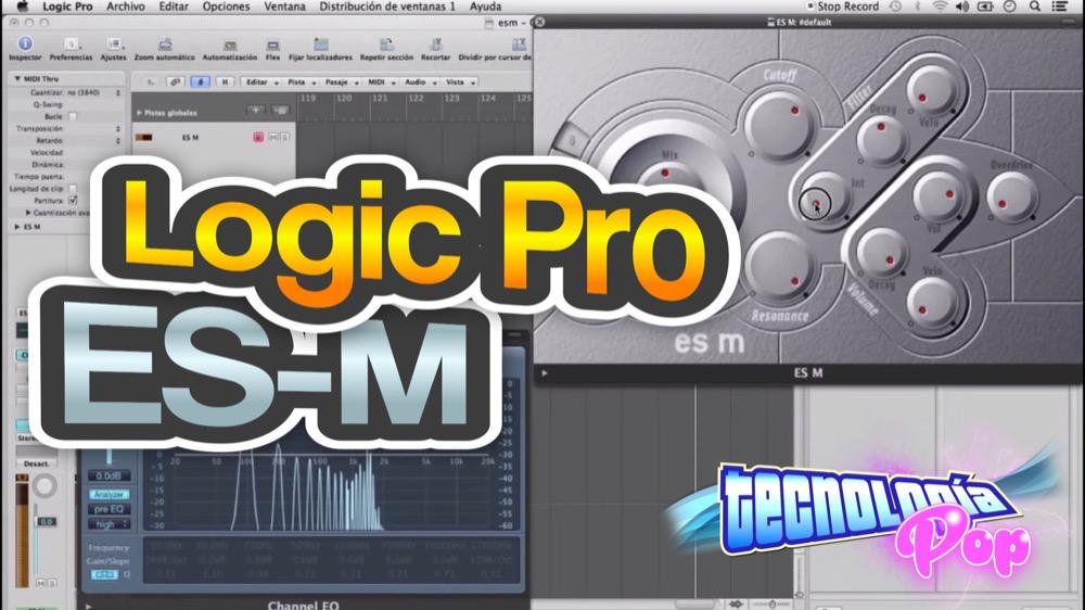 Aprende a usar el Sintetizador ES-M de Logic Pro en menos de 5 minutos