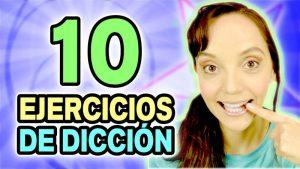 10 Ejercicios de dicción