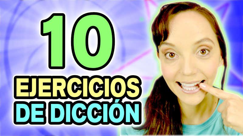 dicción y pronunciación con estos 10 ejercicios de dicción para mejorar la lectura y mejorar la pronunciación