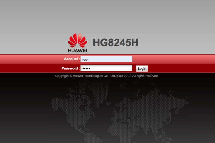 huawei hg8245h