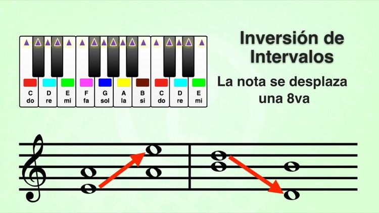 tabla de intervalos musicales