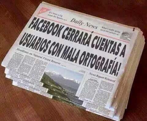 compartes información falsa facebook