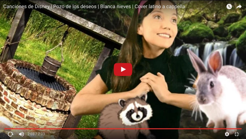 Canciones de Disney | Pozo de los deseos | Blanca nieves | Cover latino a cappella