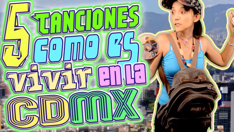 como es vivir en la ciudad de mexico según sus canciones