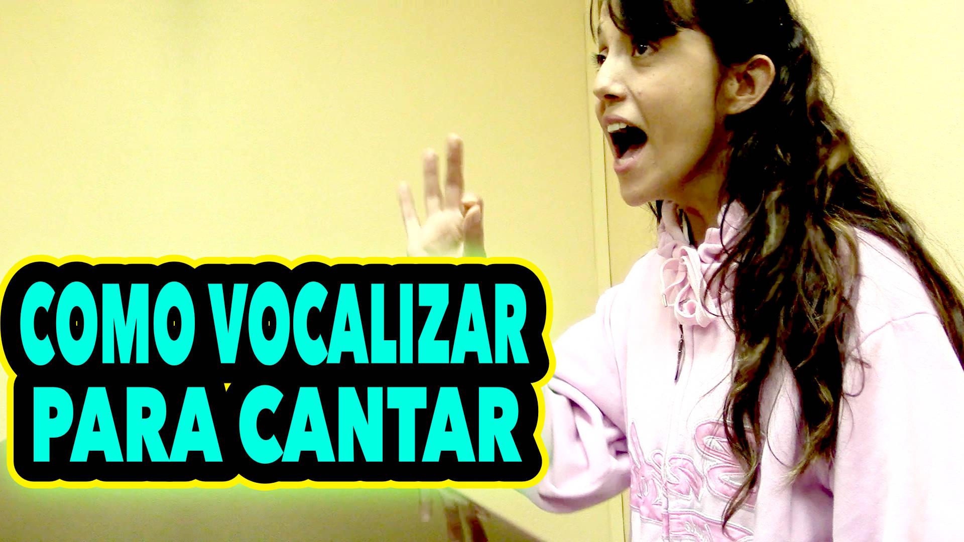 Como vocalizar la voz para cantar: Rutina de estudio de un cantante profesional