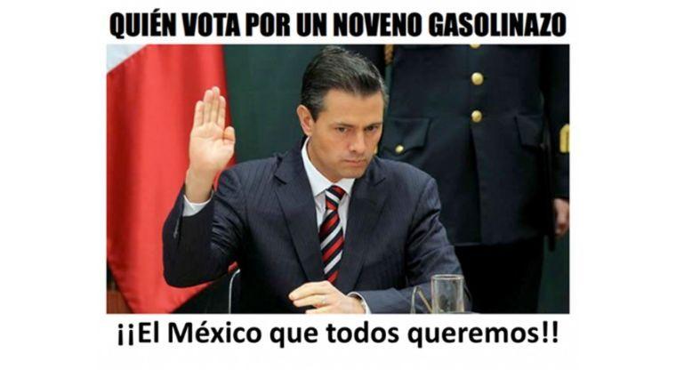 Los 30 Mejores Memes del Gasolinazo 2017