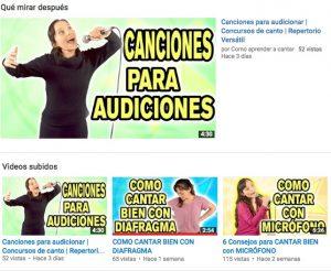 Se puede aprender a cantar por internet