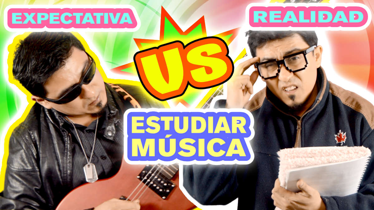 Estudiar Música: EXPECTATIVA vs REALIDAD, la cruda realidad