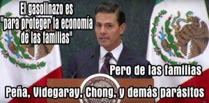 Presidente EPN defiende Gasolinazo