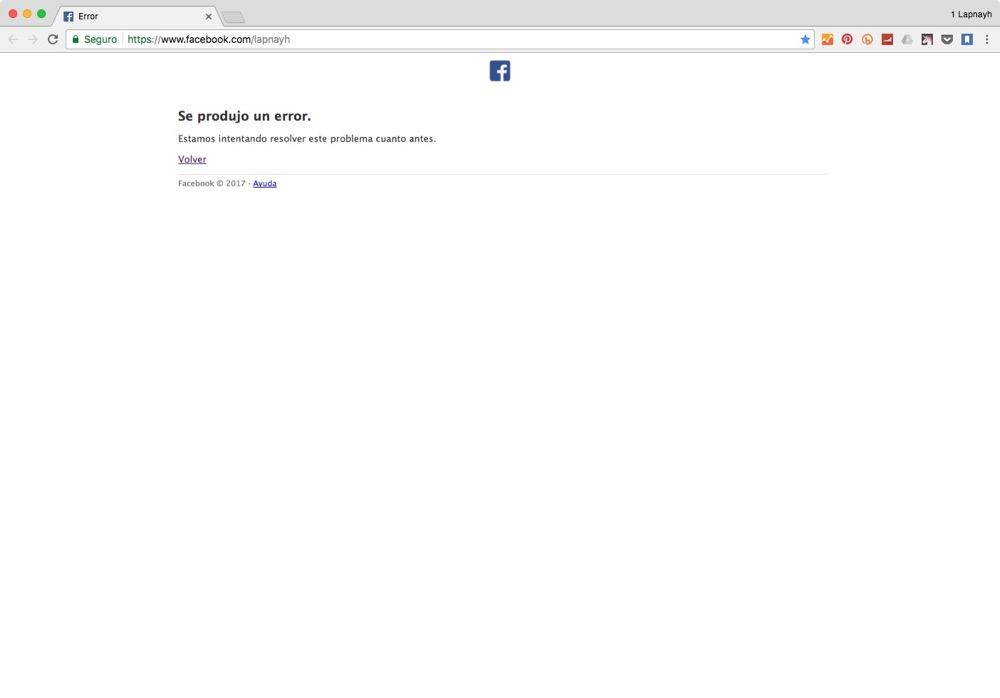 Se caen Fan Pages de Facebook