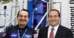 Un mexicano en Marte, espera, como que se parece a Javier Duarte