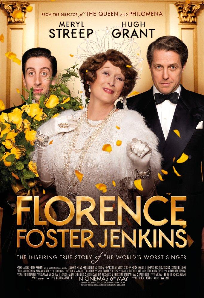 Florence Foster Jenkins Peliculas que todo cantante tiene que ver