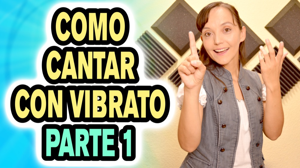 Como cantar con Vibrato, Clases de canto, Como aprender a cantar, como cantar, ejercicios de vocalización, técnica vocal