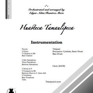 Huasteca Tamaulipeca para Banda Sinfónica y Coro