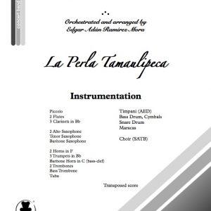 """""""La Perla Tamaulipeca"""" para Coro y Banda Sinfónica"""