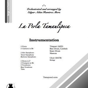 """""""La Perla Tamaulipeca"""" para Coro y Orquesta Sinfónica"""