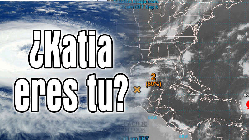 Katia: una amenaza más grande en el Golfo de México que el Huracán Irma