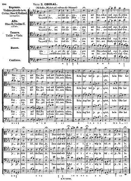 coral luterano montaje armónico que es armonía