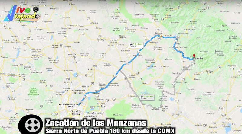 barranca de los jilgueros zacatlan de las manzanas Puebla como llegar