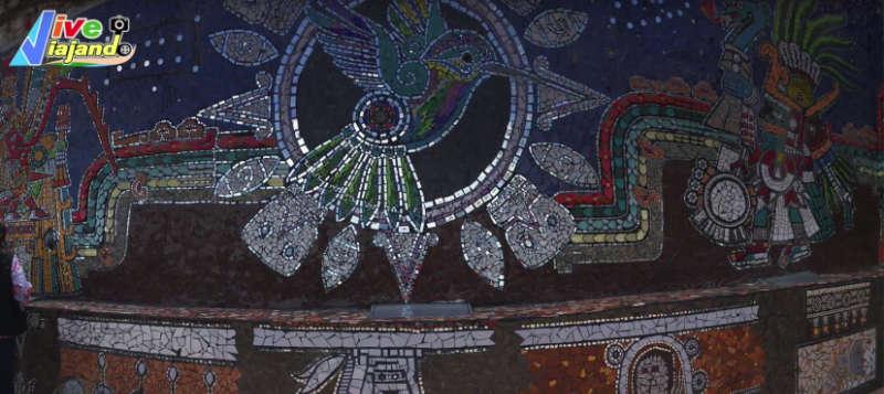 barranca de los jilgueros zacatlan de las manzanas Puebla Mural monumental