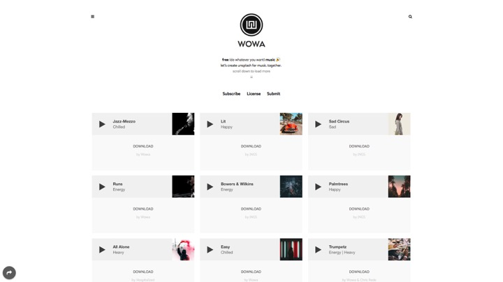 descargar música gratis Wowa