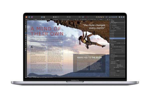 Aplicación Mac del año:Affinity Publisher (Serif Labs)