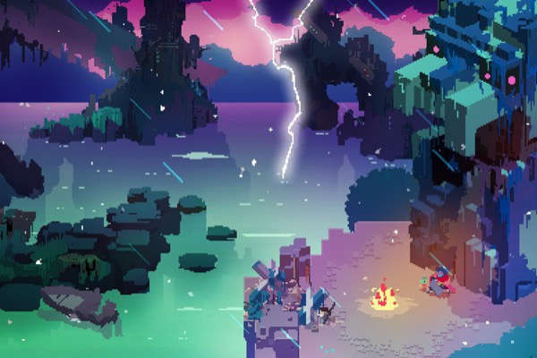"Juego para iPad del año:  ""Hyper Light Drifter"" (Abylight SL)"