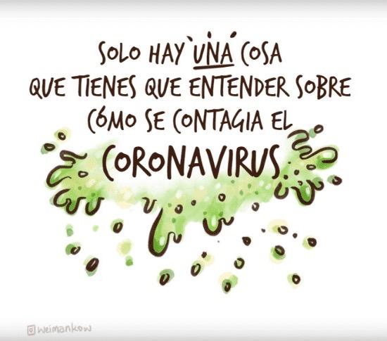 coronavirus prevención contagio