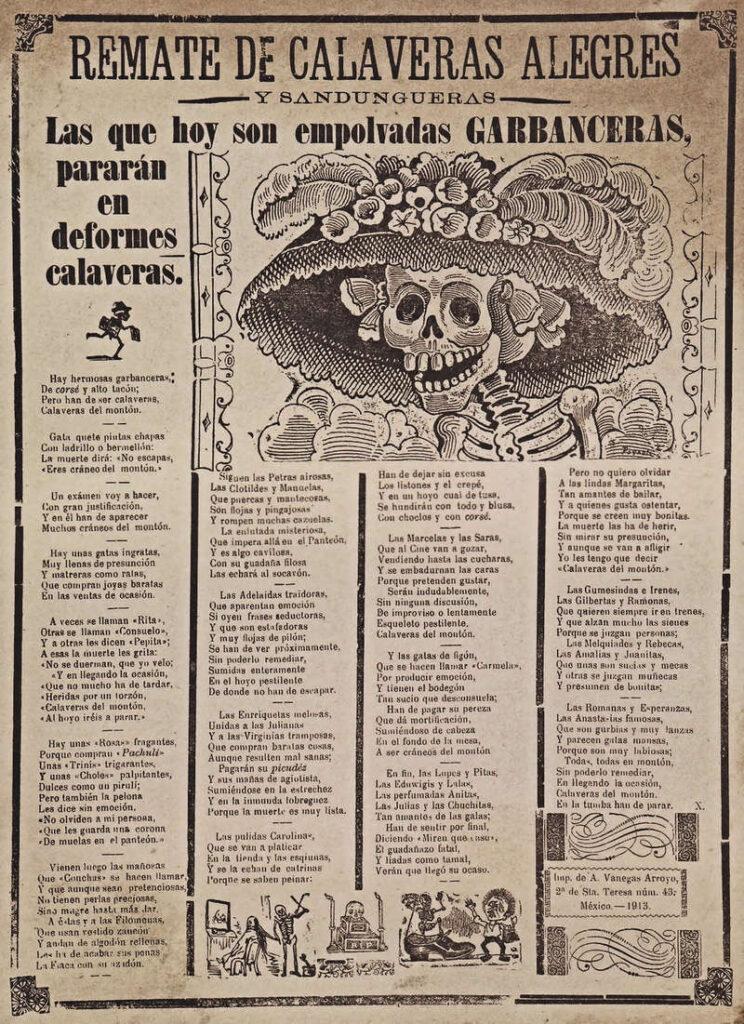 La Catrina de Jose Guadalupe Posada