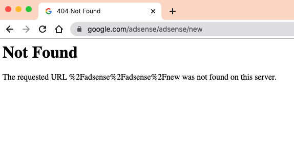 Google Adsense Down