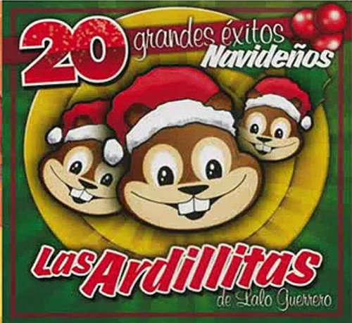 discos navideños infantiles en español las ardillitas de lalo guerrero